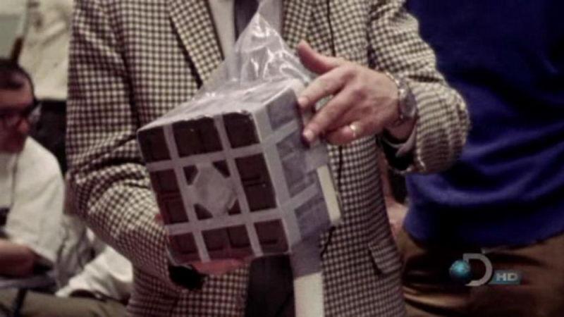 Prototipo del depurador diseñado por la NASA desde Houston