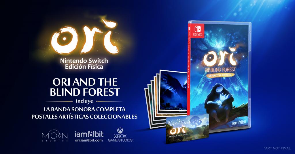 Edición física Ori and the Blind Forest