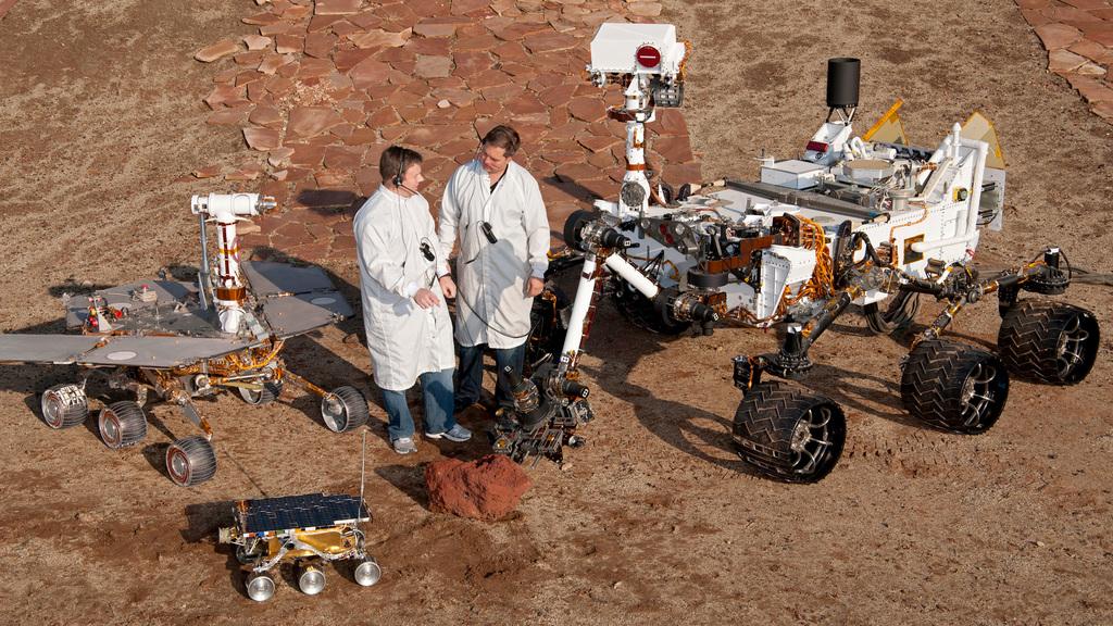 Rovers de Marte