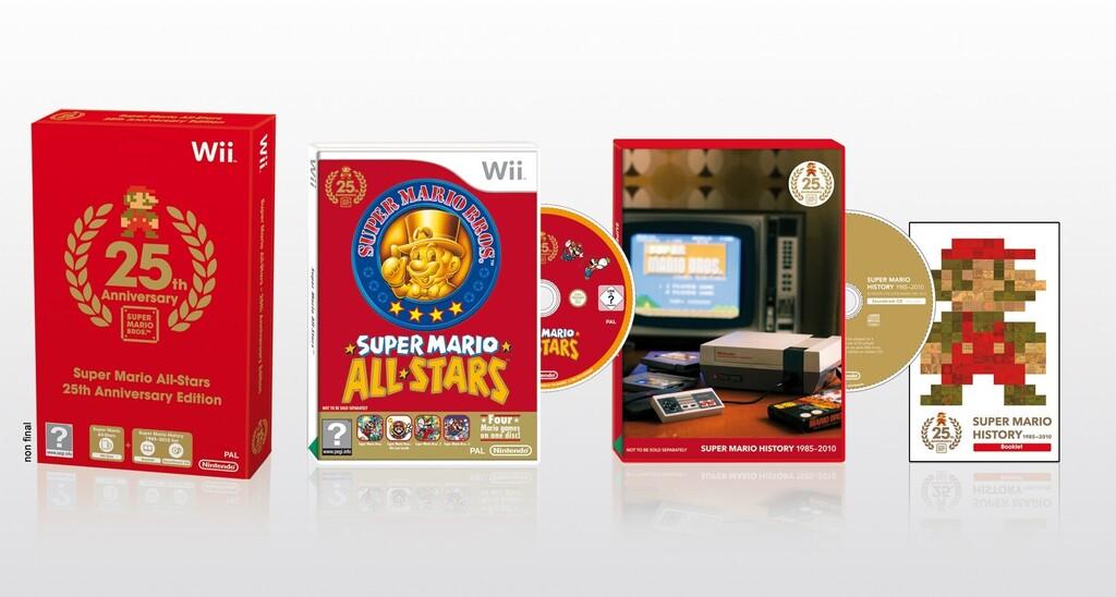 Edición conmemorativa por el 25º aniversario de Super Mario