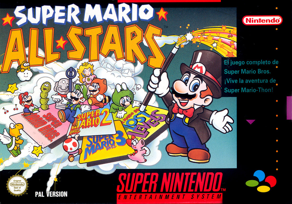 Super Mario All-Stars para SNES