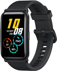 HONOR Watch ES Smartwatch Pulsera de Actividad Reloj Inteligente de Deporte 5ATM con Monitor de Pulsómetro, Blood Pressure y Sueño Fitness Tracker Unisex Compatible con Android iOS (Negro)