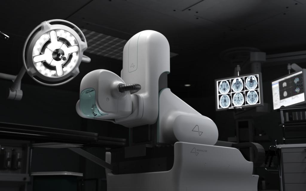 Concepto de la sala y equipo de operaciones de Neuralink