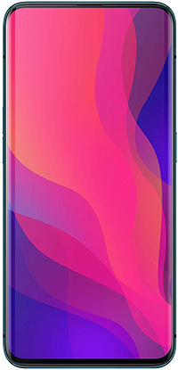 OPPO Find X - Smartphone Libre Android 8.1 (6,4 pulgadas FHD+), Dual SIM, Cámara Trasera Dual 20MP f2.0 + 16MP f2.0, Cámara Frontal 25MP f2.0, 256GB - Versión española (Azul)