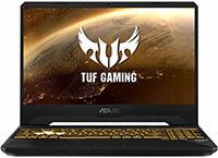 ASUS TUF FX505DT-BQ600 - Ordenador portátil Gaming de 15.6 pulgadas FullHD (AMD Ryzen 7 3750H, 16GB RAM, 512GB SSD, NVIDIA GTX1650-4GB, sin sistema operativo) Negro Sigilo - Teclado QWERTY español