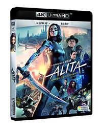 Alita: Ángel de combate - 4k UHD + Blu-ray