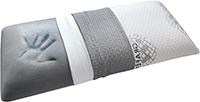 DHOME Almohada Almohadas de Viscografeno Hilo Plata viscoelastica grafeno visco (70cm, 1 Unidad)