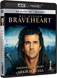 Braveheart - 4k UHD + Blu-ray