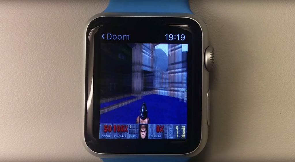 Doom en un Apple Watch