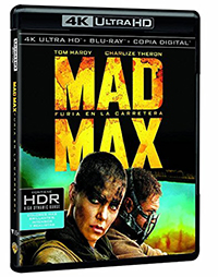 Mad Max: Furia en la carretera - 4k UHD + Blu-ray + Copia digital