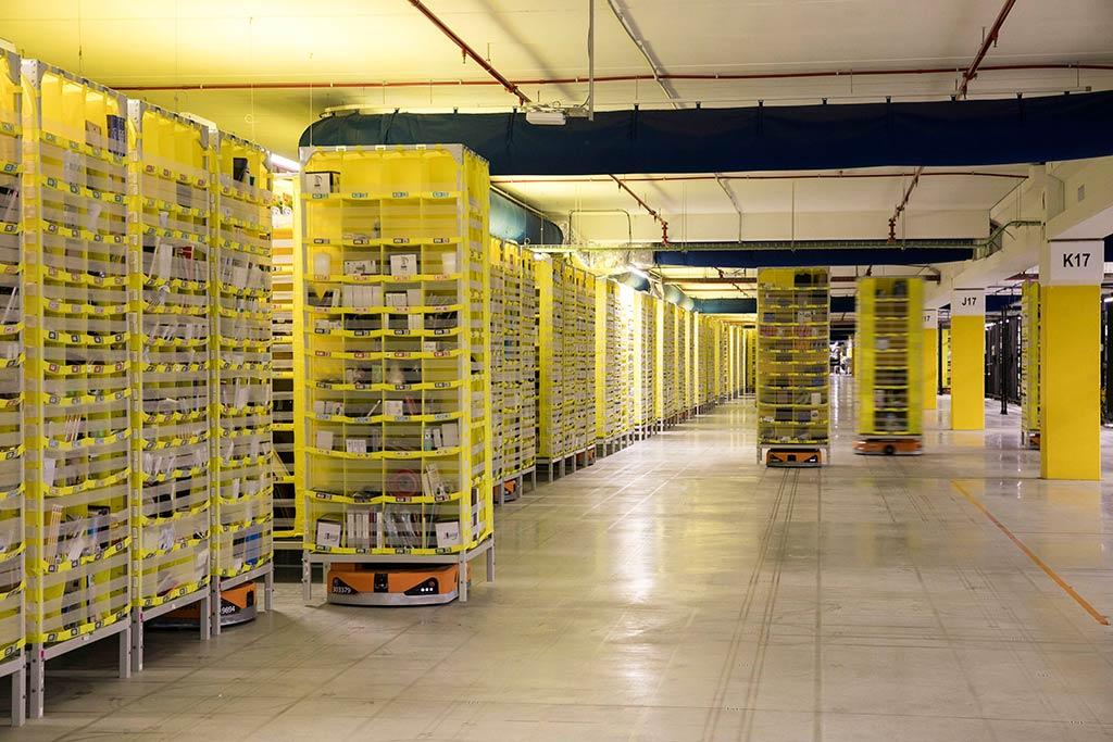 Centro logístico de Amazon en El Prat de Llobregat, Barcelona
