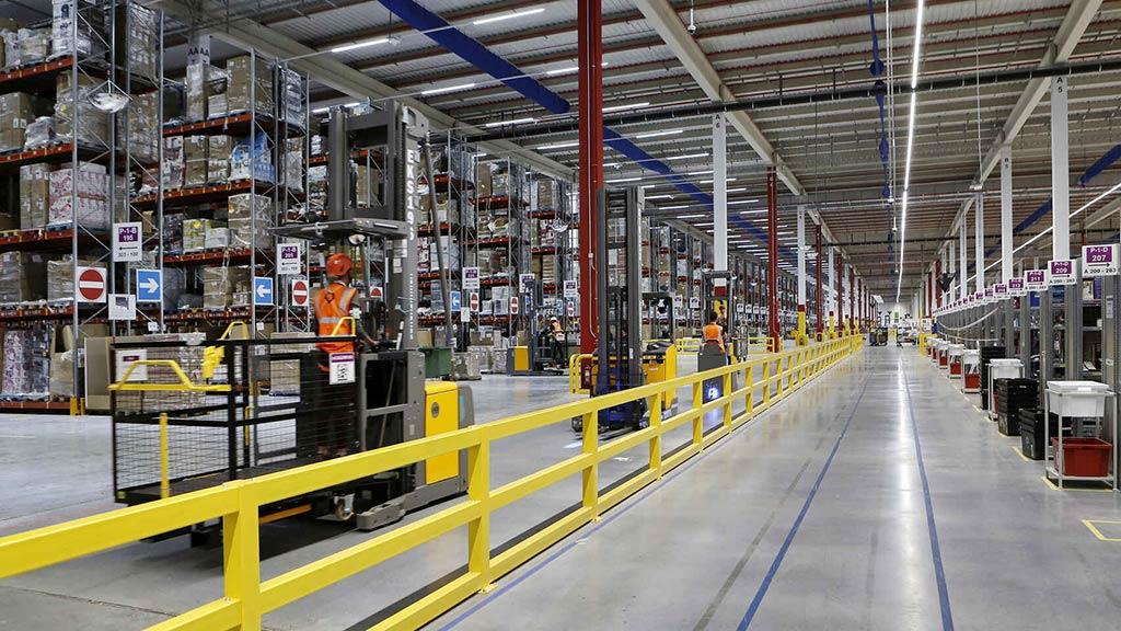 Centro logístico de Amazon en Illescas, Toledo