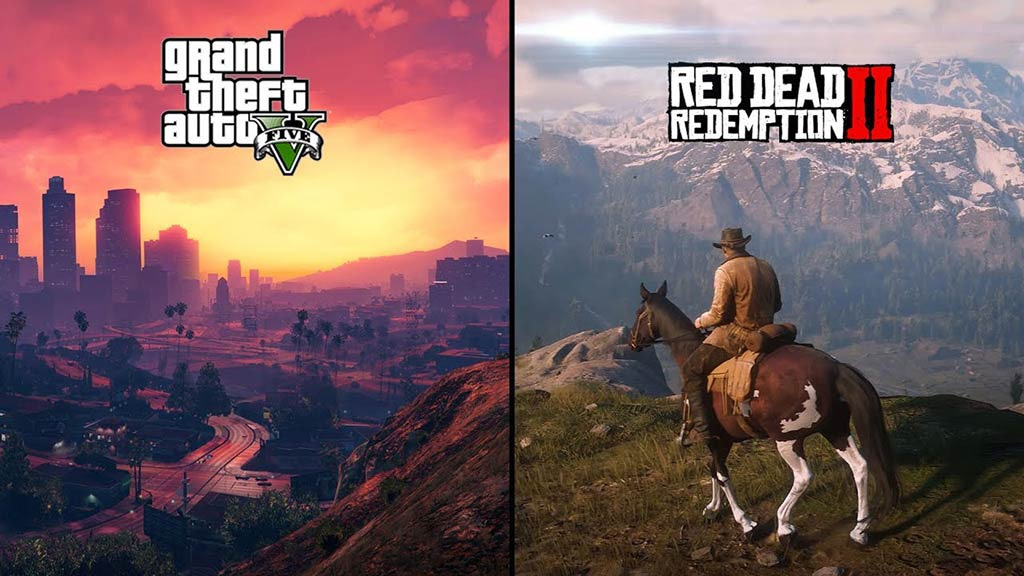 Grand Theft Auto V - Red Dead Redemption 2