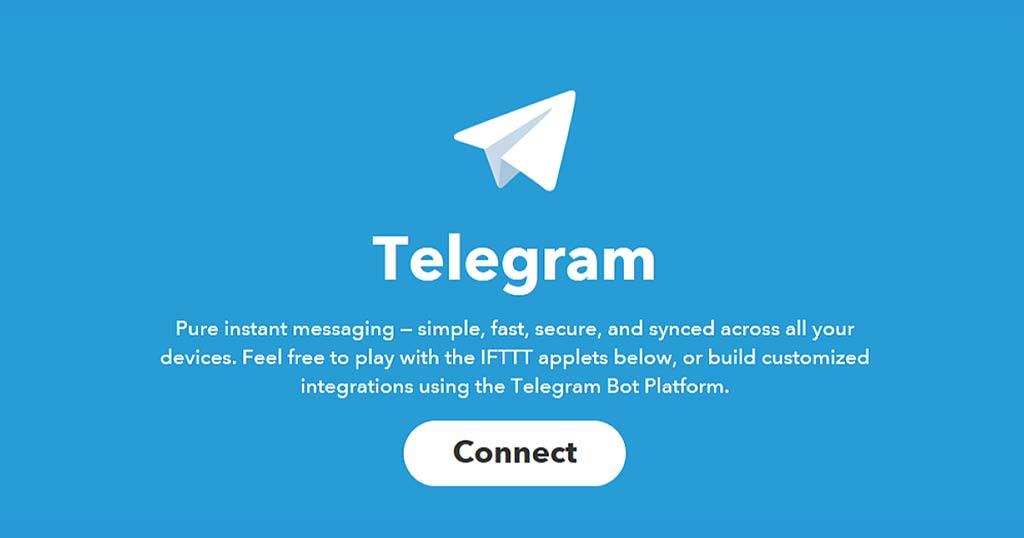 Telegram - IFTTT
