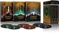 Trilogía El Hobbit (versión extendida) - Steelbook 4k UHD (Blu-ray)