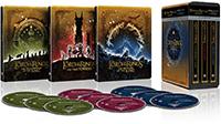 Trilogía El Señor de los Anillos (versión extendida) - Steelbook 4k UHD (Blu-ray)