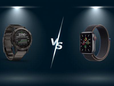 Apple Watch vs Garmin Fenix 6